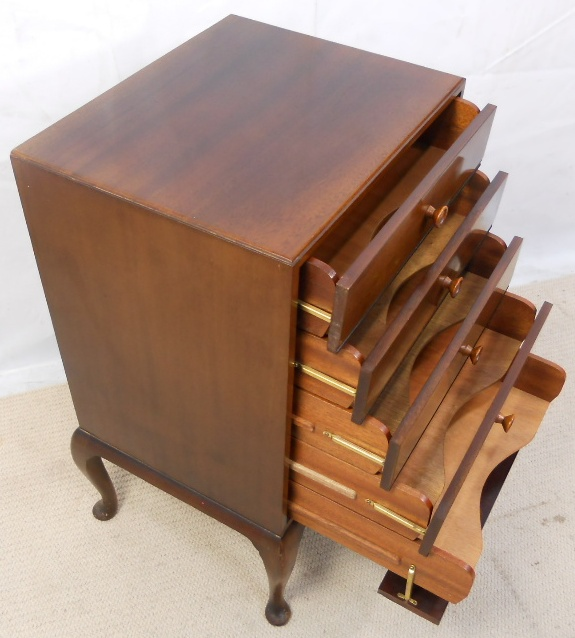 Mahogany Sheet Music Cabinet Chest Of Drawers Sold